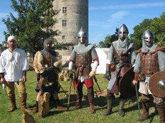 Hommes d'armes des médiévales de Blain
