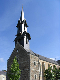 Clocher de l'église de la Chevallerais