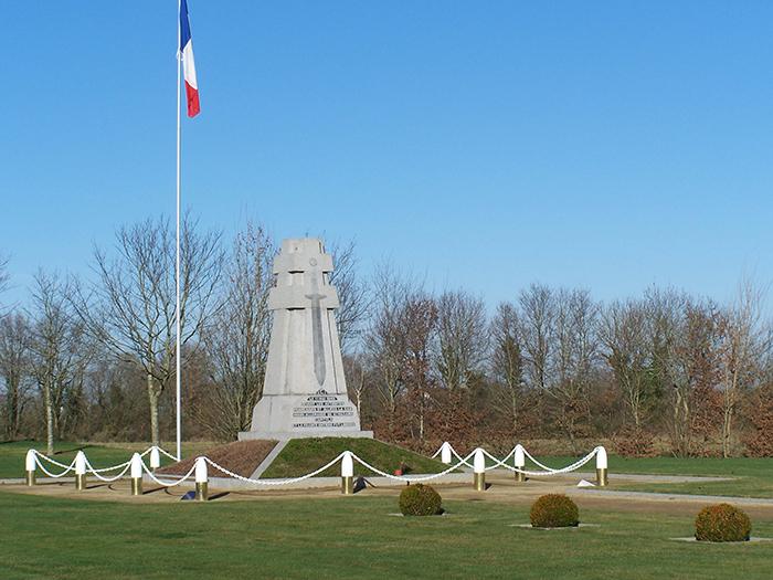 Monument d la reddition de Bouvron